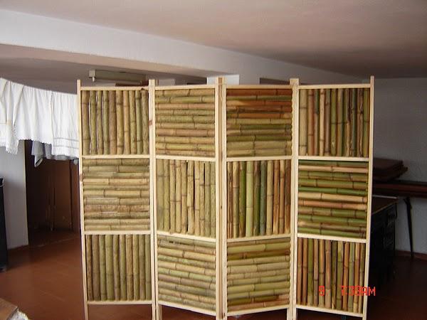 os biombos so muitos usados para dividir ambientes e colocar em sacadas de