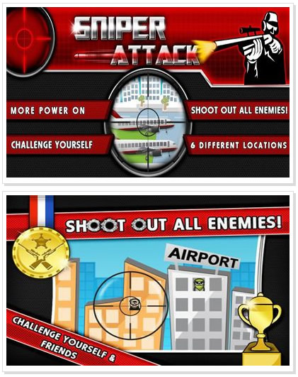 Android Game : Sniper Attack