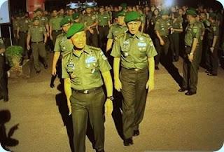 Kasdam TNI Kunjungi Yonif 751/Raider Sentani