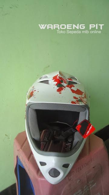 Jual Helmet Full face Polygon sepeda balap mtb bmx gunung downhill murah