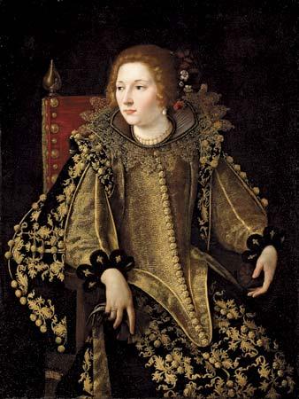 Portrait d'une Dame assise, Artemisia Gentileschi