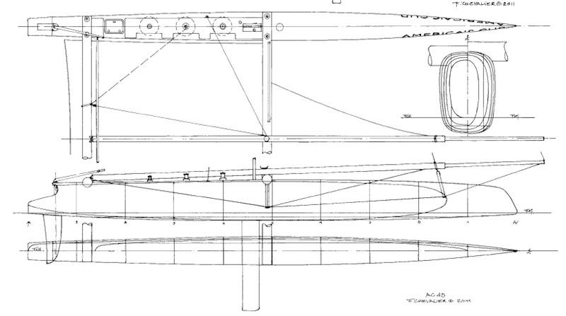 Как построить тримаран своими руками 56