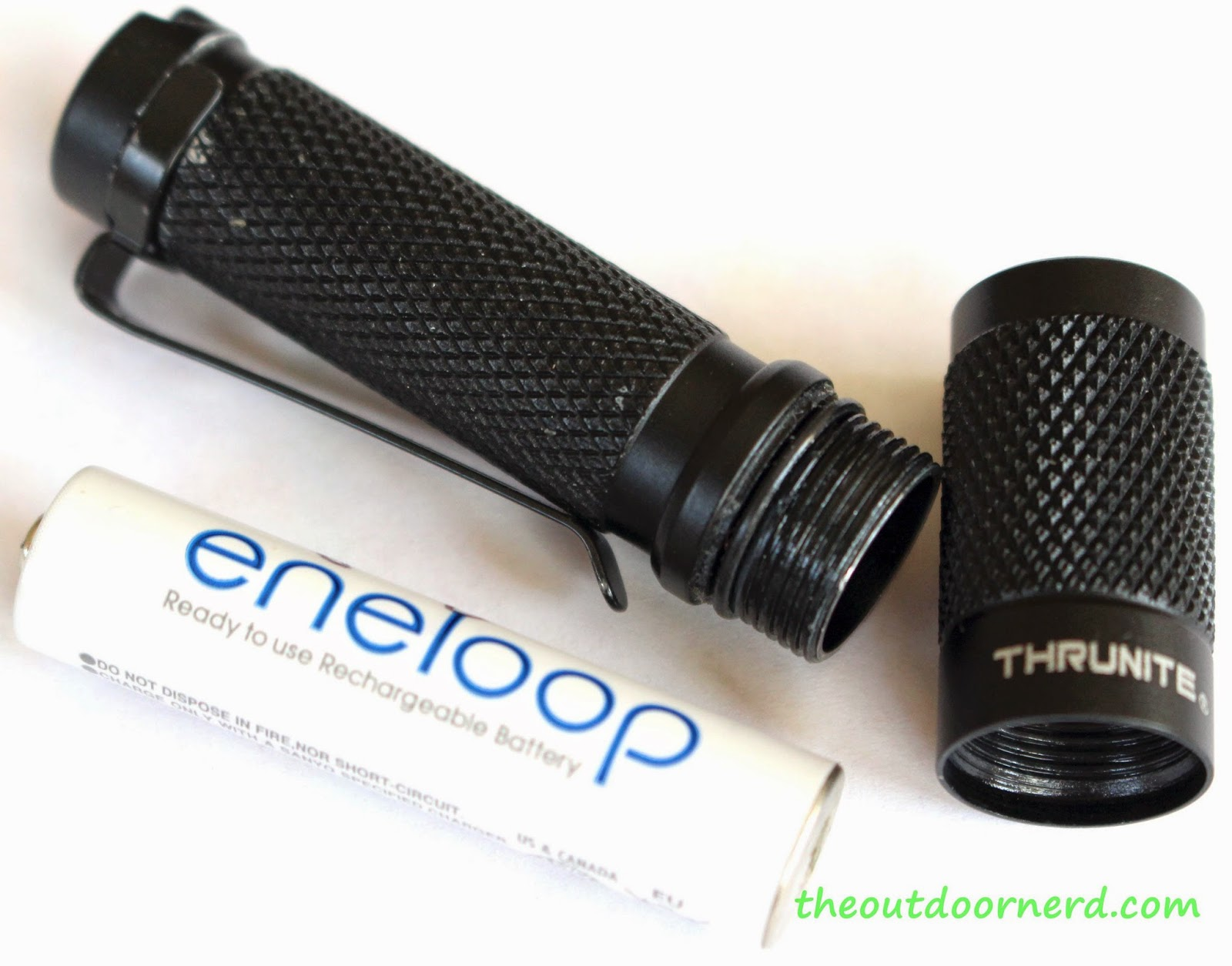 Thrunite Ti3 1xAAA EDC Flashlight: Product View 8