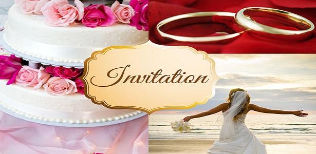 Invitation De Mariage A Imprimer