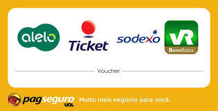PAGUE COM VOUCHER TICKET e SODEXO (ALIMENTAÇÃO)