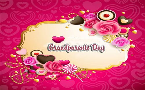 Top Grandparents Day Pictures For Facebook Avatar: Sweet Pictures With Candy, Chocolate And Flower On Grandparents Day For Facebook