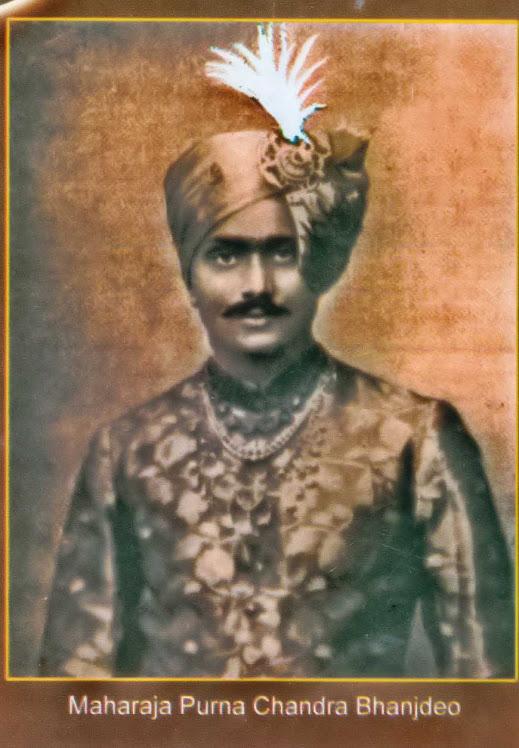 Maharaja Purno Chandra Bhanjdeo