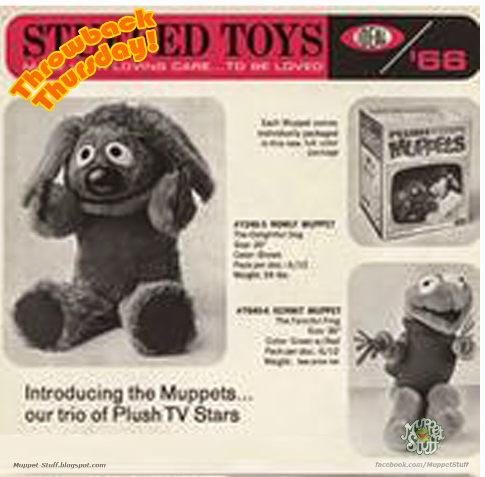Throwback Thursday: 1966 Ideal Toy Catalog   Muppet Stuff