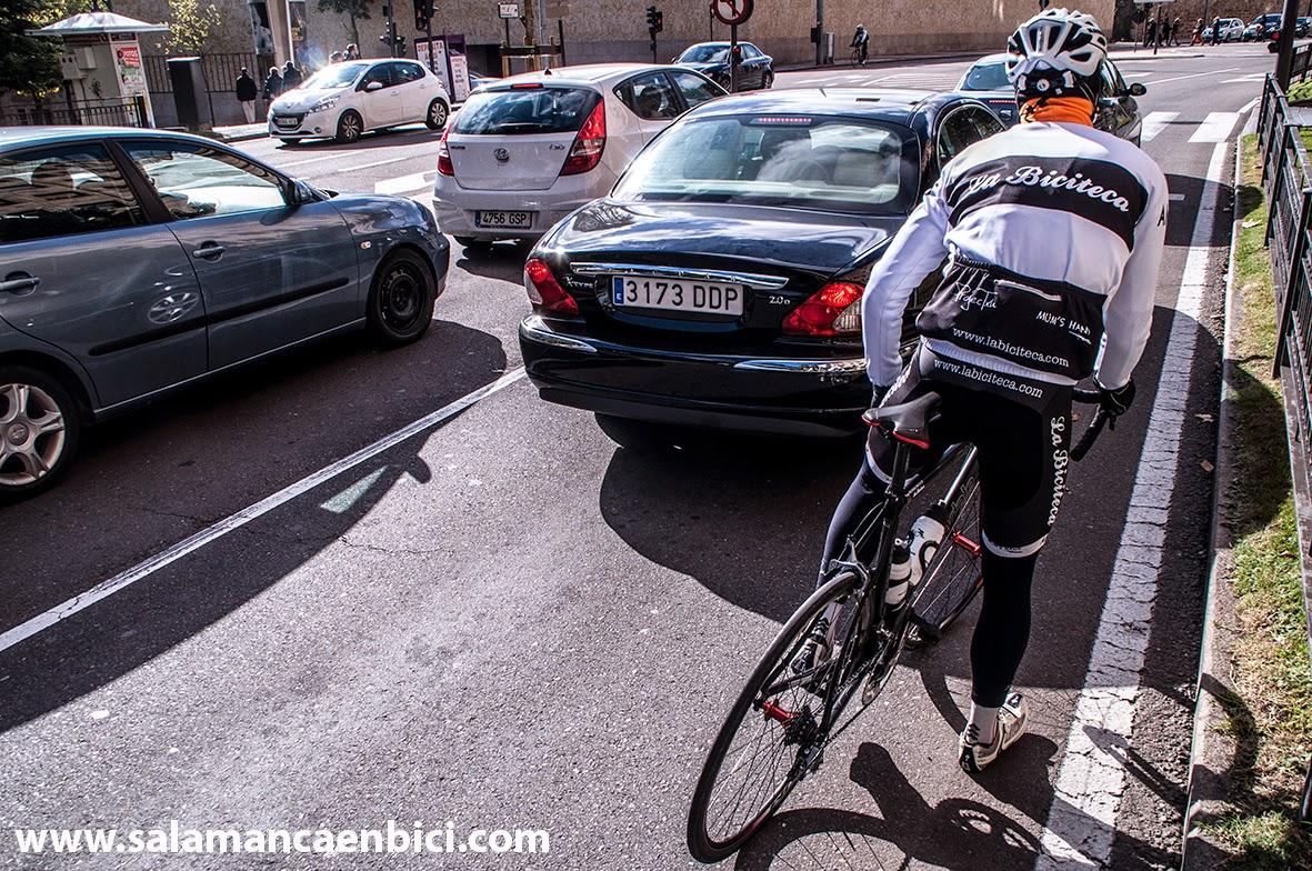 la biciteca carril bici salamanca