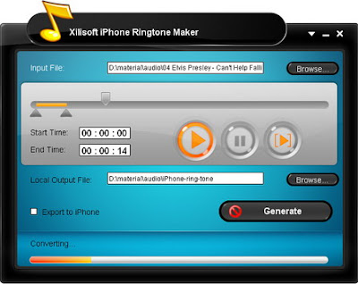 celular  Xilisoft iPhone Ringtone Maker 2011 Download