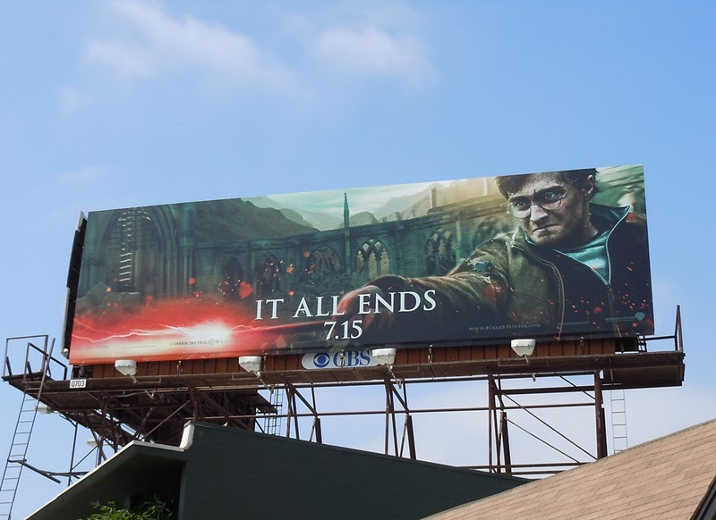 Harry Potter Deathly Hallows 2 billboard