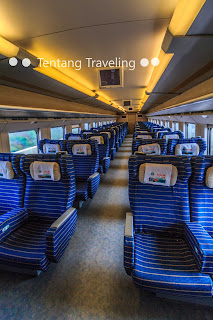 High Speed train di China