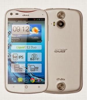 Acer Liquid E2 Kamera 8 MP