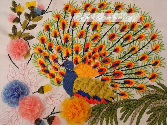 silk peacock,