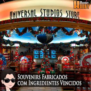 Pocket Hobby - www.pockethobby.com - Souvenirs Fabricados com Ingredientes Vencidos na Universal Studios Japan