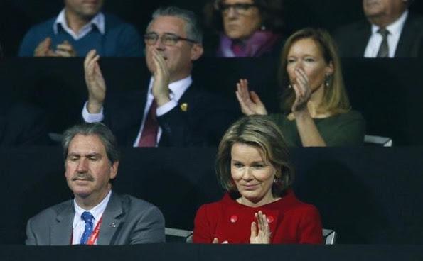 Queen Mathilde At The Davis Cup Final 2015, 3rd Day