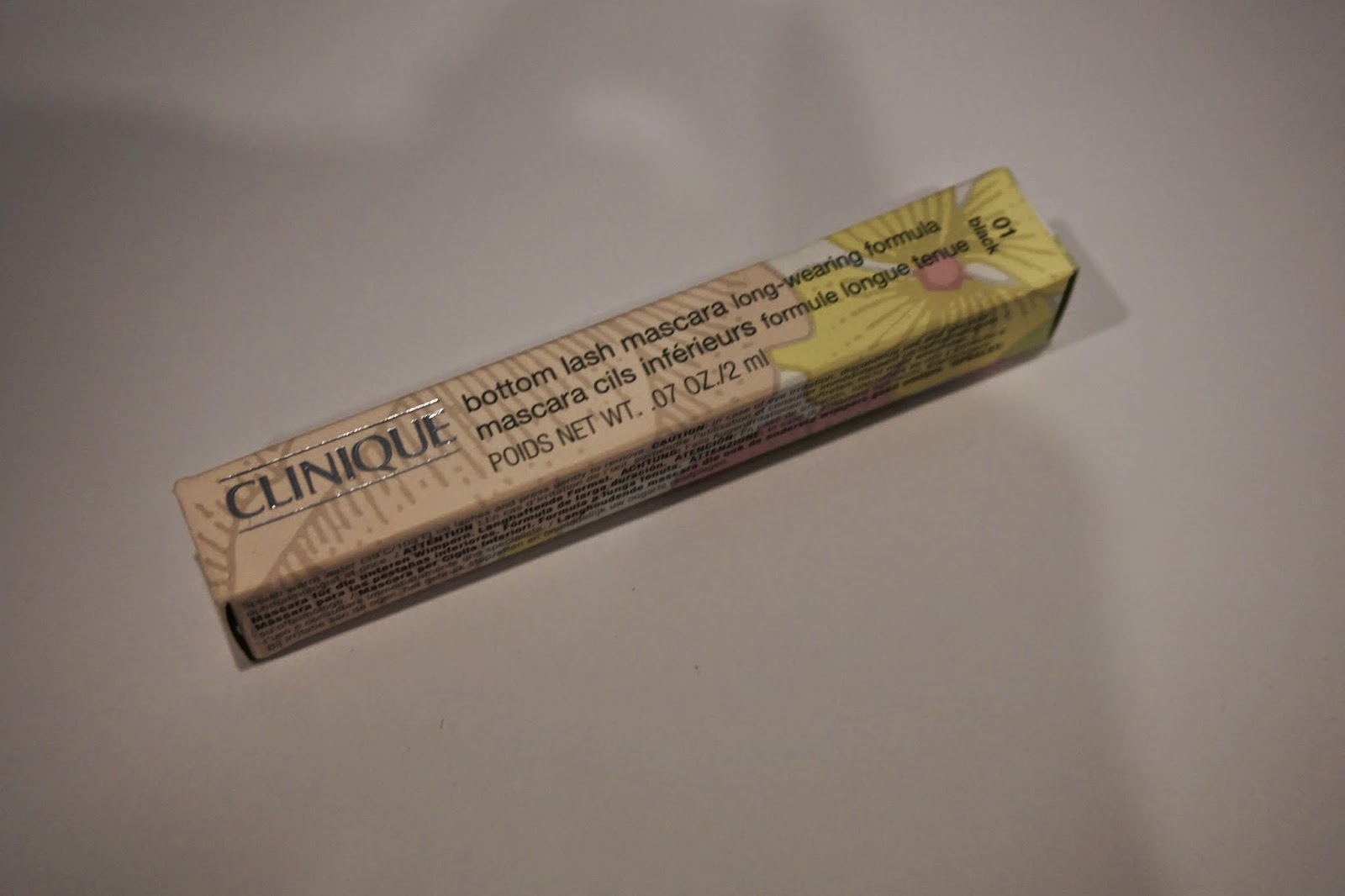 Sephora Haul and mini reviews - Clinque Bottom Lash Mascara - Dusty Foxes Beauty Blog