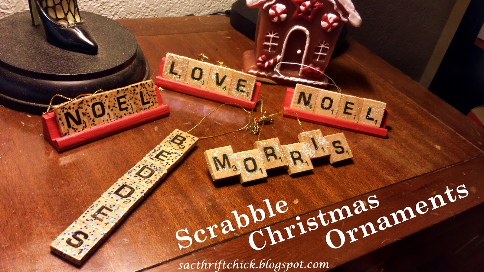 DIY Tile Crafts: How to Make Scrabble Ornaments and Scrabble ...