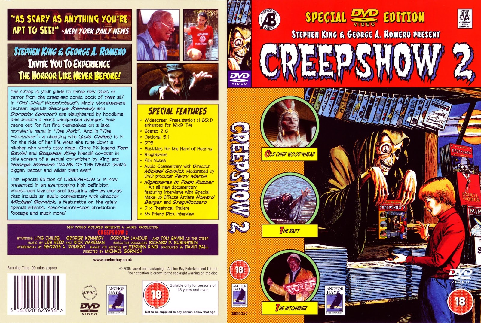 Cult Trailers Creepshow 2 1987