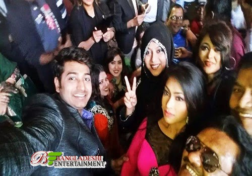Selfie celebration of Bangladeshi Celebrities