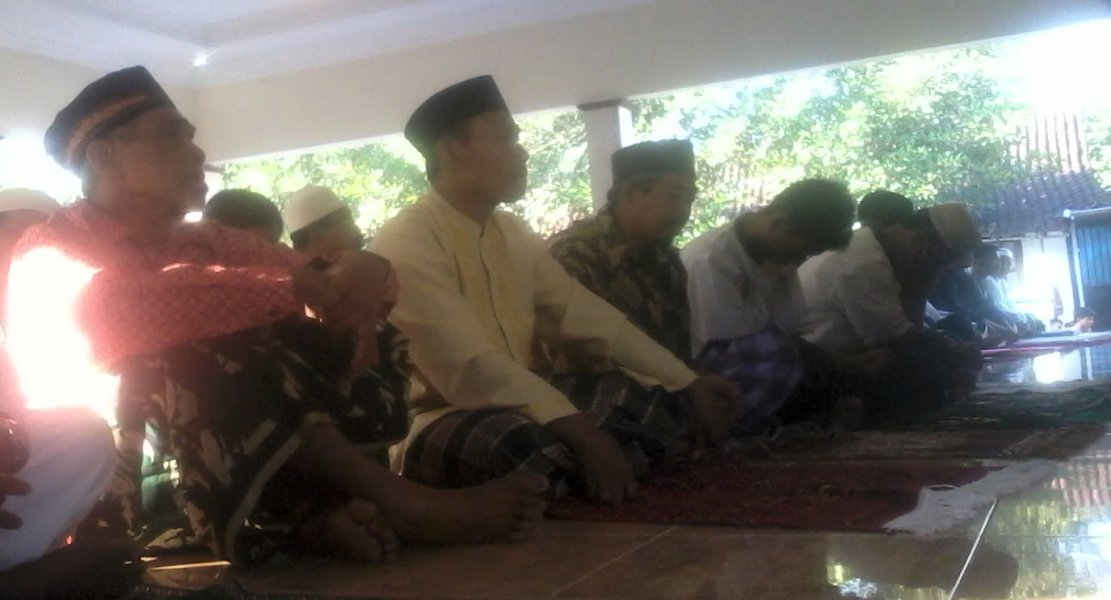 Jamaah Sholat Idul Fitri Al Falaq Nanggulan Kulon Progo Yogyakarta