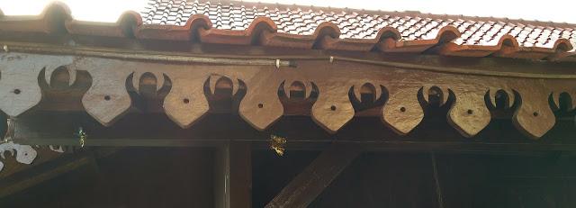 ornament khas rumah adat kebaya