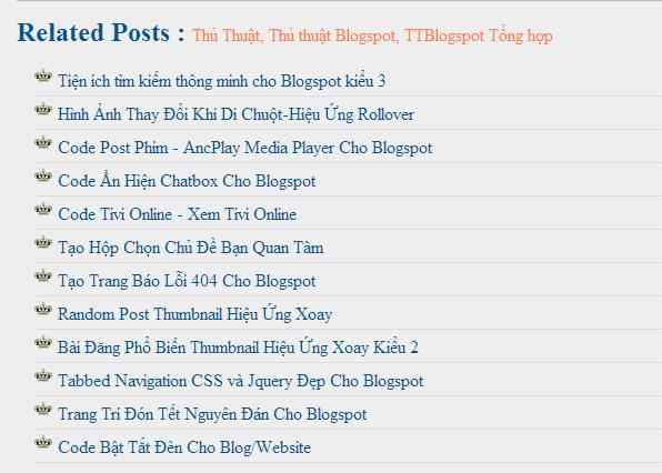 Bài Viết Liên Quan Với Favicon Cho Blogspot