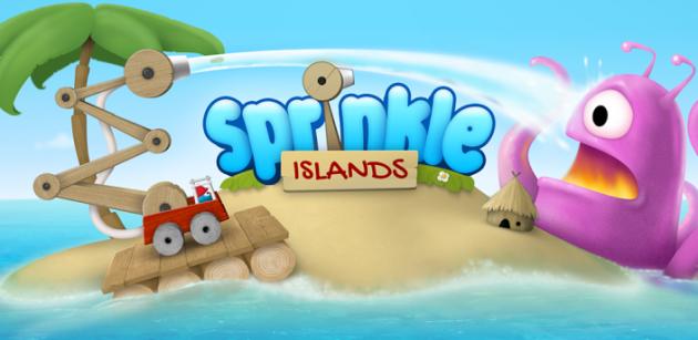 لعبة الذكاء Sprinkle Islands للاندرويد