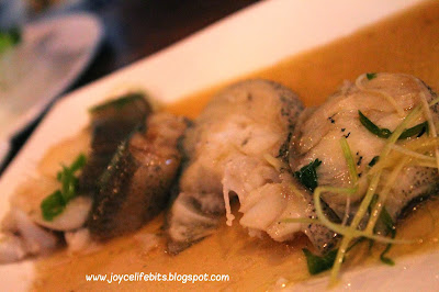 healthy steam cod fish