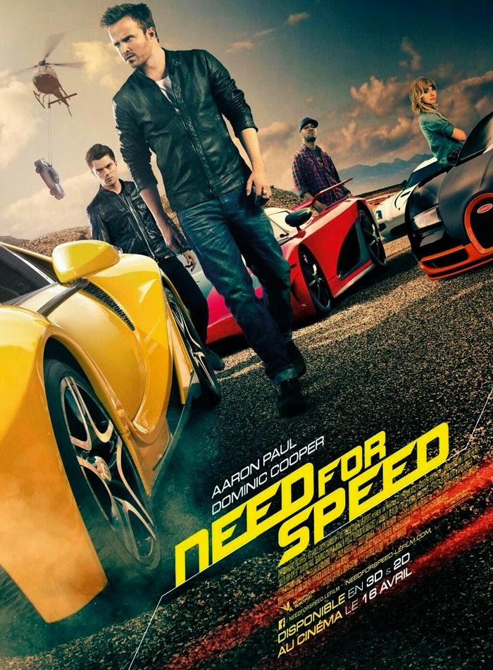 Phim Phiêu Lưu - Hành Động Đam Mê Tốc Độ - Need For Speed - 2014