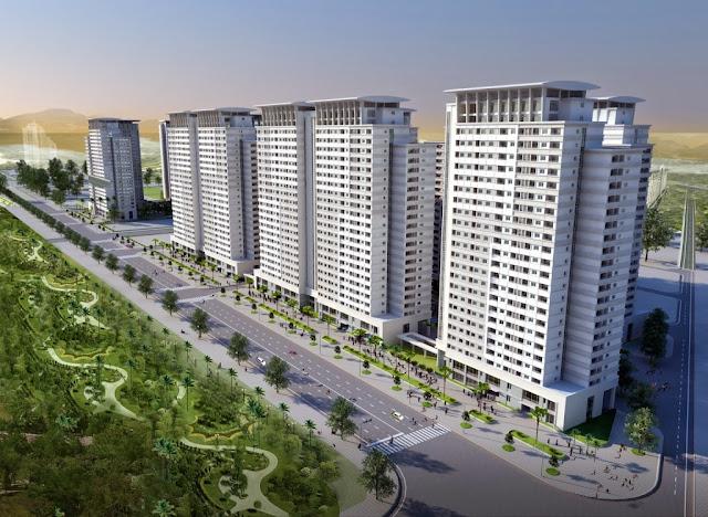 Toàn cảnh dự án tiểu khu Park View Residence ct7 dương nộ