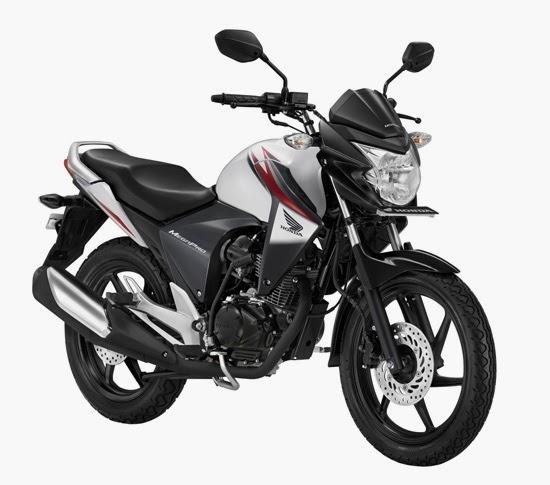 Pilihan warna untuk Honda New Mega Pro CW