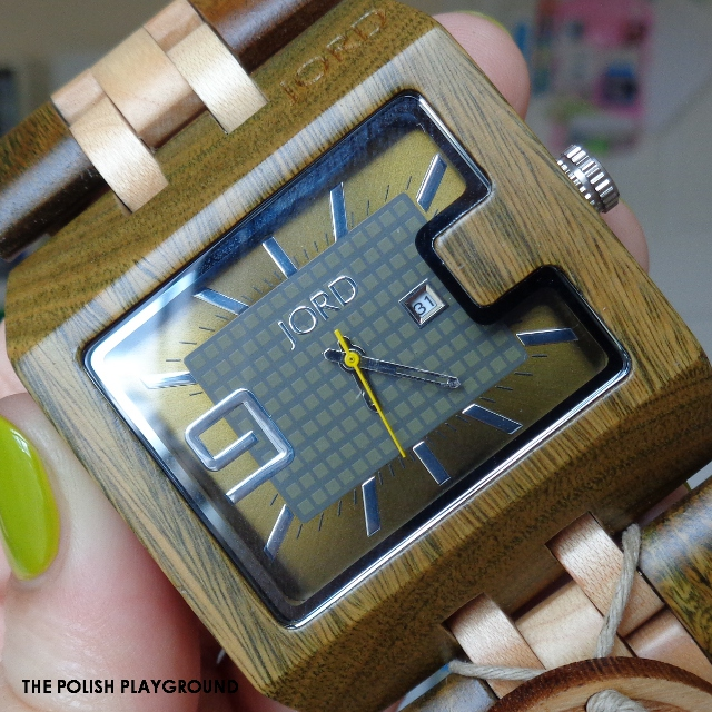 JORD Watch Review - 94A Green Sandalwood & Maple