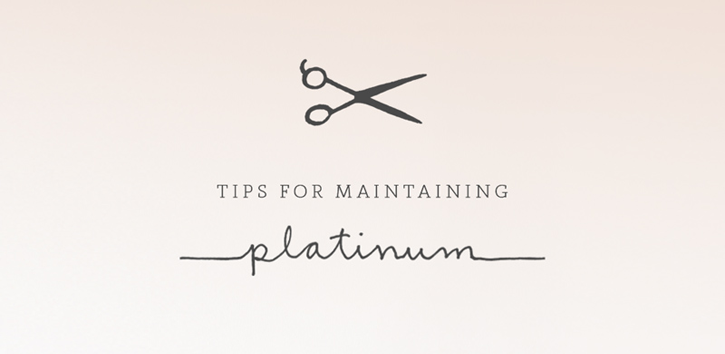 tips for platinum hair