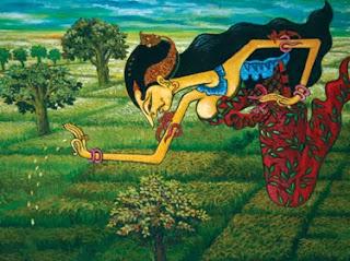 Asal-usul Munculnya Padi dewi Sri