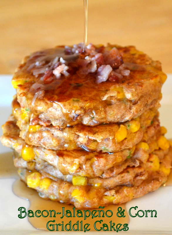 Cookin' Cowgirl: Bacon-Jalapeño and Corn Griddle Cakes