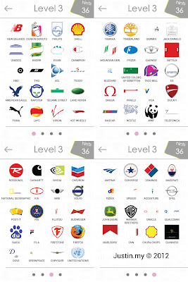 Logo Quiz Answers Level 1