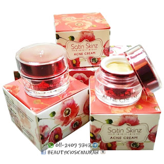 SATIN SKINZ FACIAL ACNE CREAM