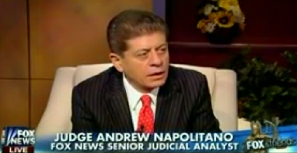 Fox Judicial Analyst Counsels GOP: Don't Sue The President - Impeach Him