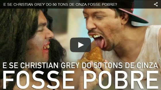 E se Christian Grey do 50 tons de cinza fosse pobre?