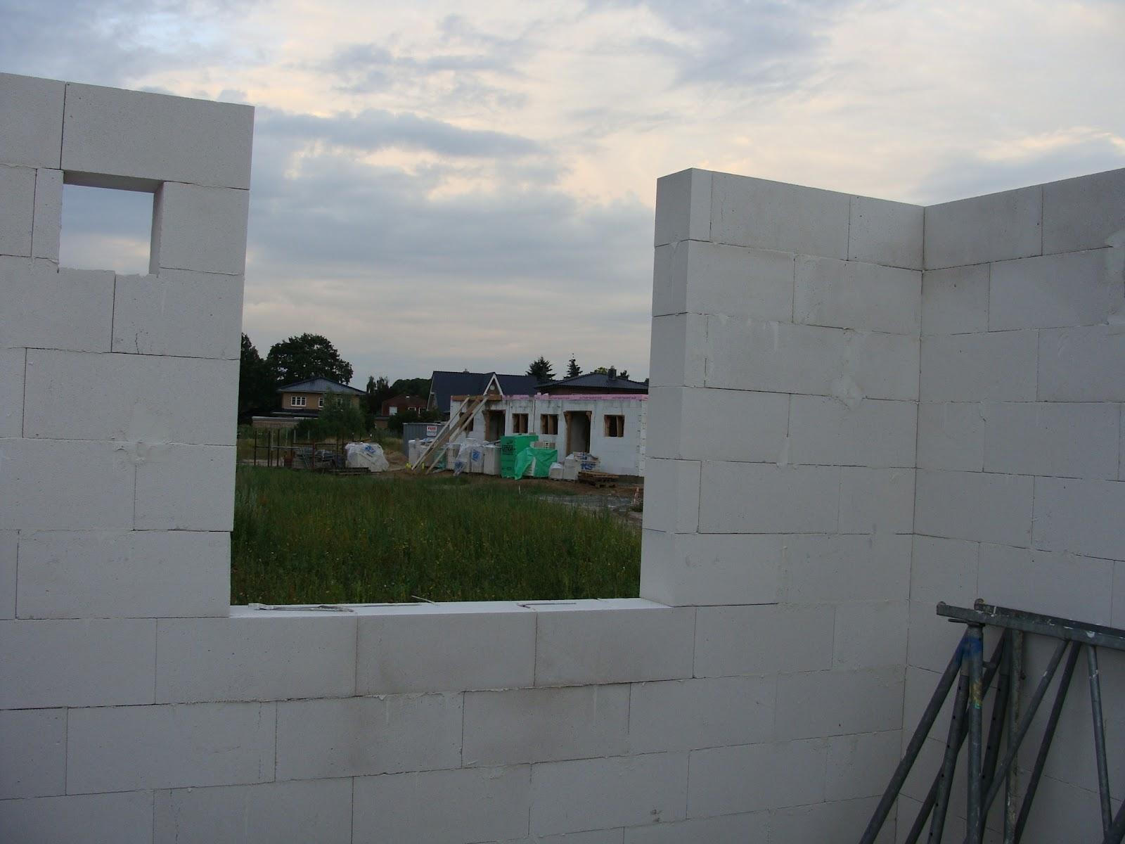 Hausbau in adendorf bei l neburg mit claassen haus town for Fenster ytong