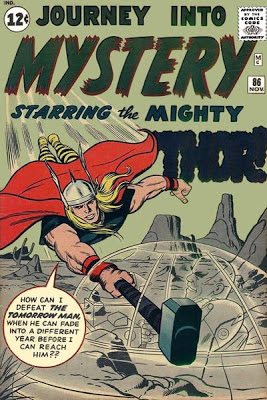 Journey Into Mystery 86, Thor and Zarrko the Tomorrow Man