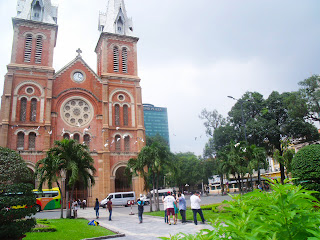 Notre Dame Cathedral ho chi minh city