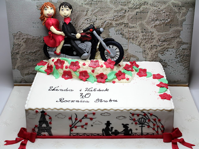 Anniversary Cake for Couple, London