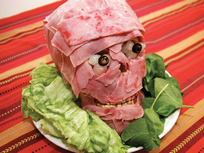Gory Meat Face
