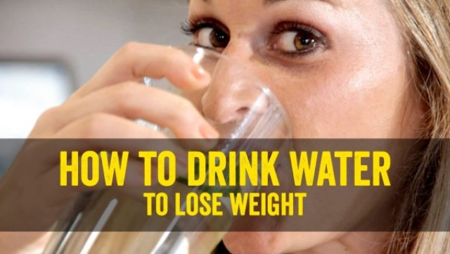 drink water to loose weight