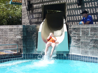 Phoenix water slide hyatt scottsdale