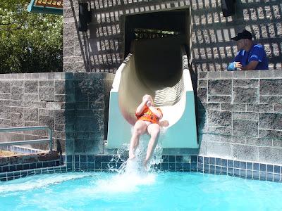Phoenix water slide hyatt scottsdale