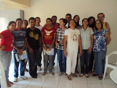 Encontro de formação para novos assessores da IAM e JM da Forânia 1 - Diocese de Crato/CE
