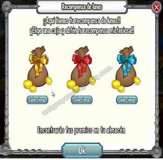 imagen del mini juego recompensa del lunes
